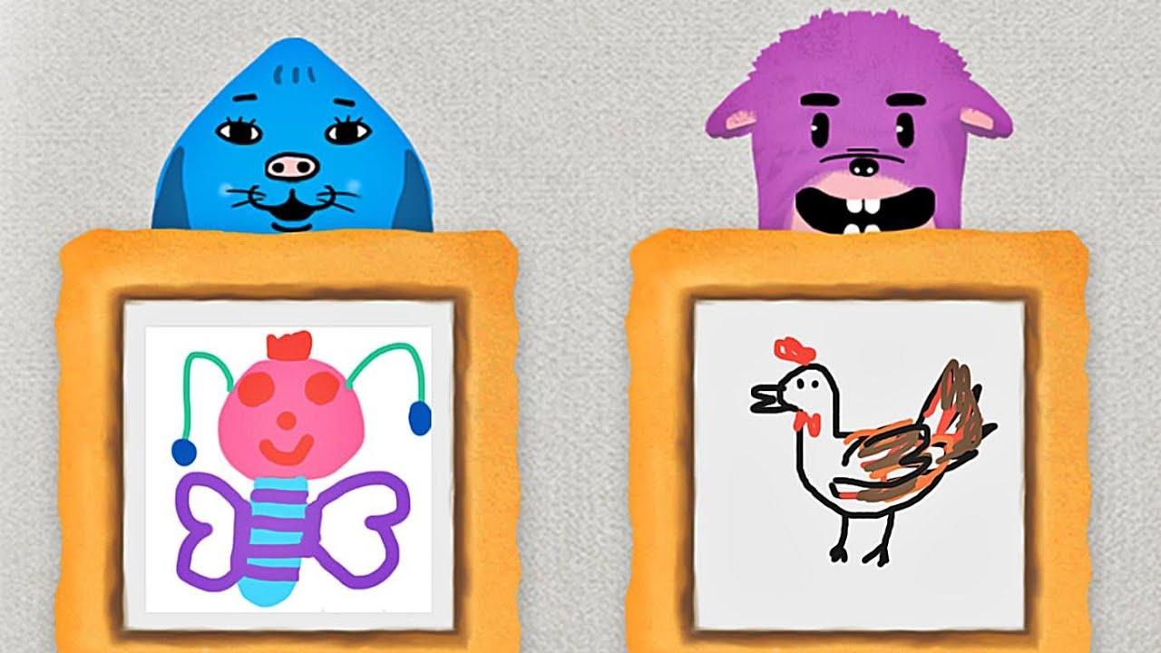 coosi box gratis mal app f r kinder mit interaktiven zeichnungen youtube. Black Bedroom Furniture Sets. Home Design Ideas