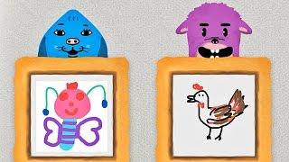 Coosi Box ★Gratis★ Mal-App für Kinder mit interaktiven Zeichnungen