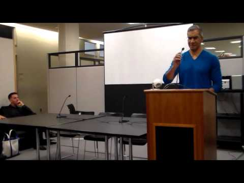 Open House part 1 at the PhD Program in English, CUNY Graduate Center, 2016