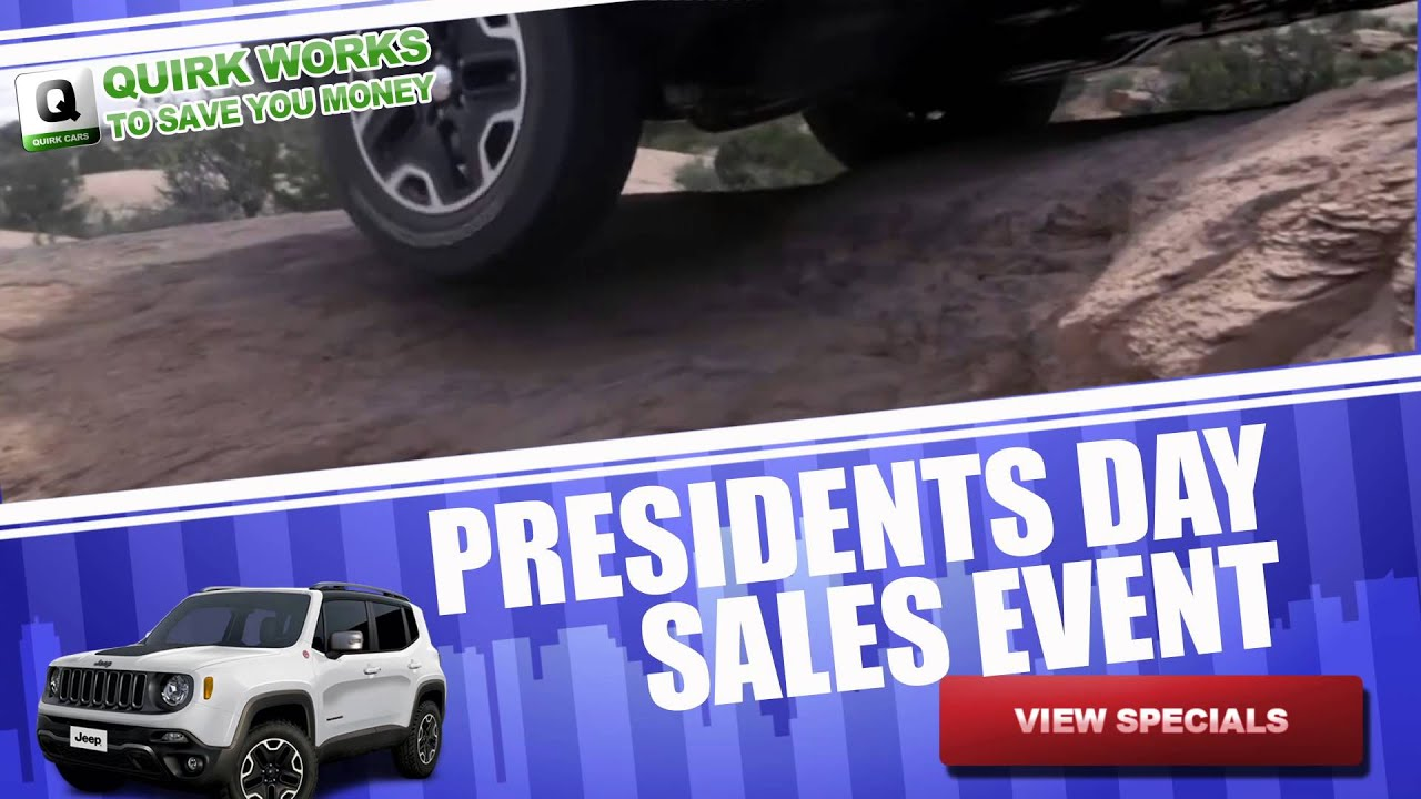 Quirk Chrysler Jeep Presidents Day Sale Boston MA