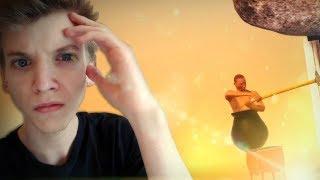Głupie Pomarańczowe Wzgórze! :v || Getting Over It - 2nd Run #3