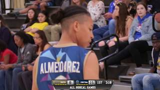 All norcal games girls high school central valley vs south valley all-star game live 4/1/18
