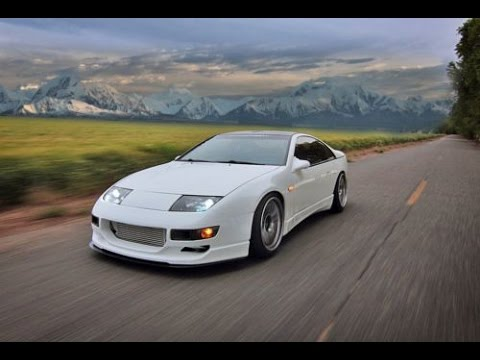 boosted mustang gt vs twin turbo nissan 300zx - youtube