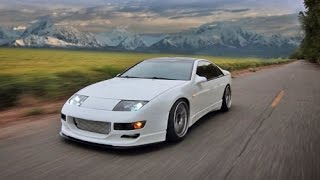 Boosted Mustang GT vs Twin Turbo Nissan 300ZX