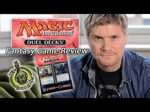 'Magic: The Gathering: Duel Decks: Blessed Vs Cursed'- Fantasy Board Game Review
