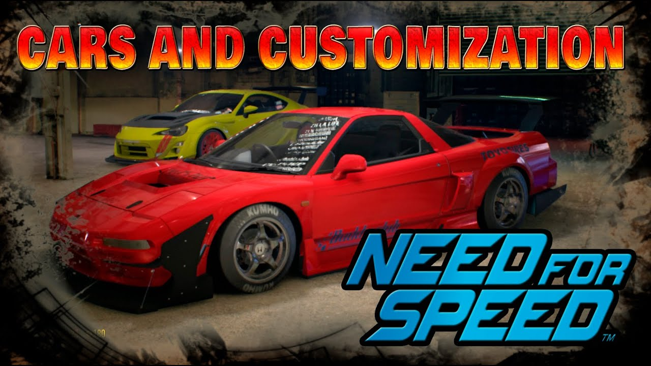 need for speed all cars list gameplay honda nsx customization youtube. Black Bedroom Furniture Sets. Home Design Ideas