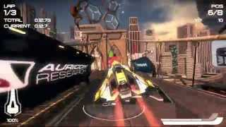 How well does WipEout 2048 play on PS TV?