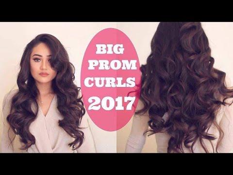 BIG BEAUTIFUL VOLUMINOUS CURLS: PROM HAIR TUORIAL