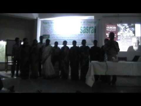 sasrai-Movement Presentation in Chittagong Nursing College World Prayer Day
