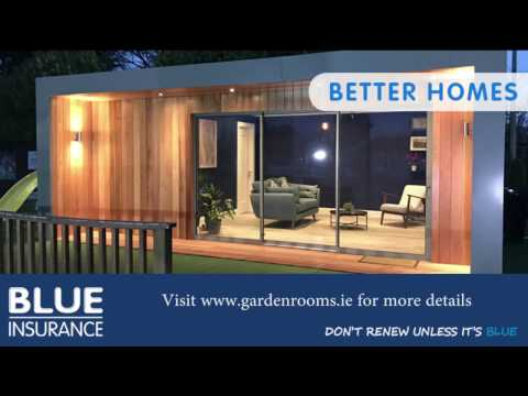 Blue Insurance Better Homes series featuring Garden Rooms