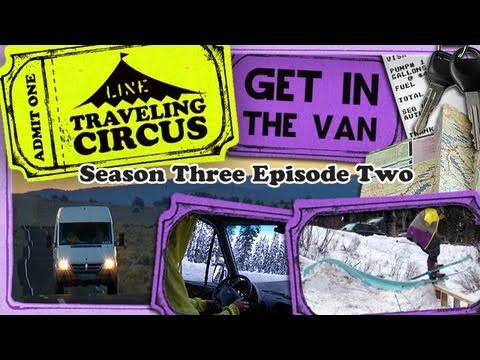 LINE Traveling Circus 3.2 Get In The Van