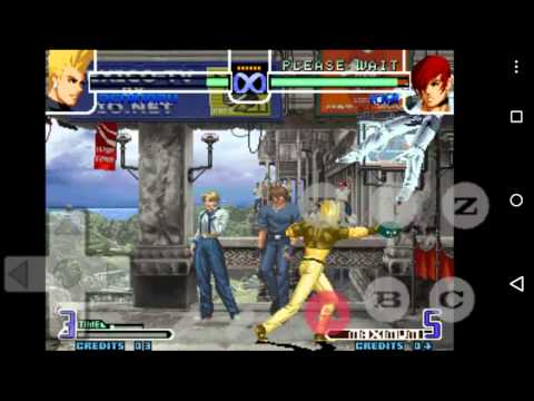 The King Of Fighters 2002 Android - Treinamento