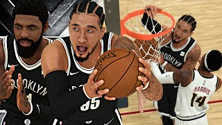 1st Contact Dunk! Kyrie Carried Us To Victory?! NBA 2K20 LVP Career #4