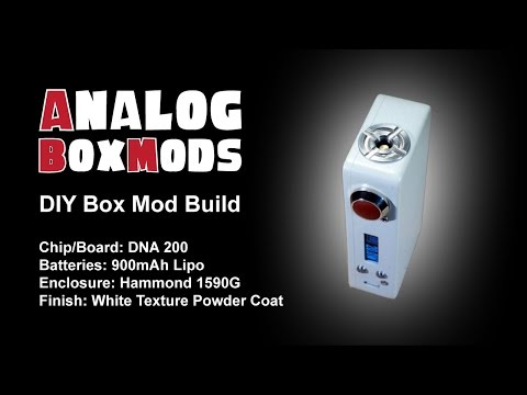 DNA 200 DIY Box Mod Build