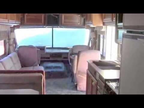 1989 Fleetwood Rv Bounder 31 Motor Home Youtube