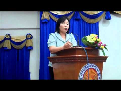 Role of prosecutor  in gaining trust from public on justice system by Ms  Chea Leang 19 08 2011