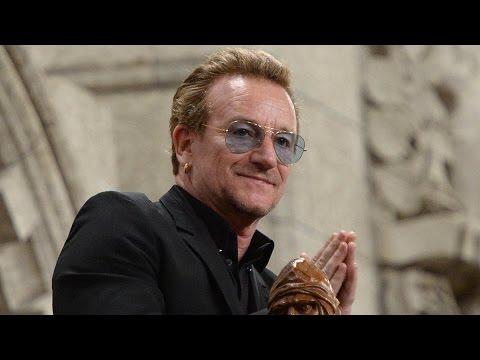 RAW: Bono comes to town