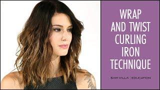 Perfect Beach Waves Hair Tutorial | Wrap and Twist Technique