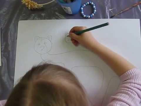 как нарисовать гепарда в 5 лет