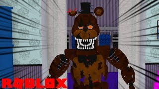 BECOMING NIGHTMARE FREDDY !! | Roblox Afton's Family Diner