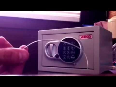 инструкция к сейфу Aiko - фото 11