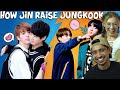 How Jin Raised Jungkook - Chaotic Reaction!
