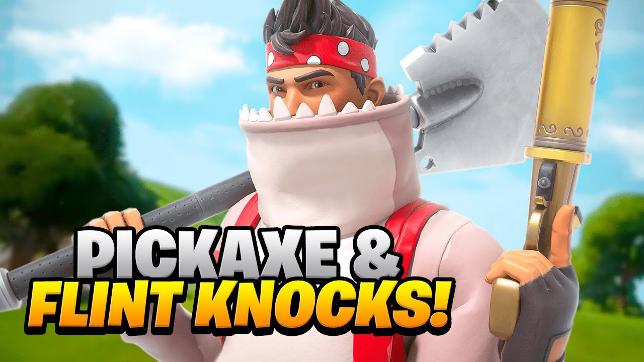 Download INSANE Flint Knock & Pickaxe ONLY Win in the Bugha's Late Game Arena Mode!