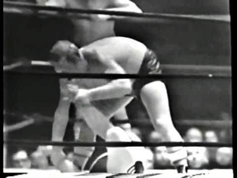 Skull Murphy Brute Bernard vs The Bavarian Boys Rudi Jacobs Harry Wenzel wrestling match