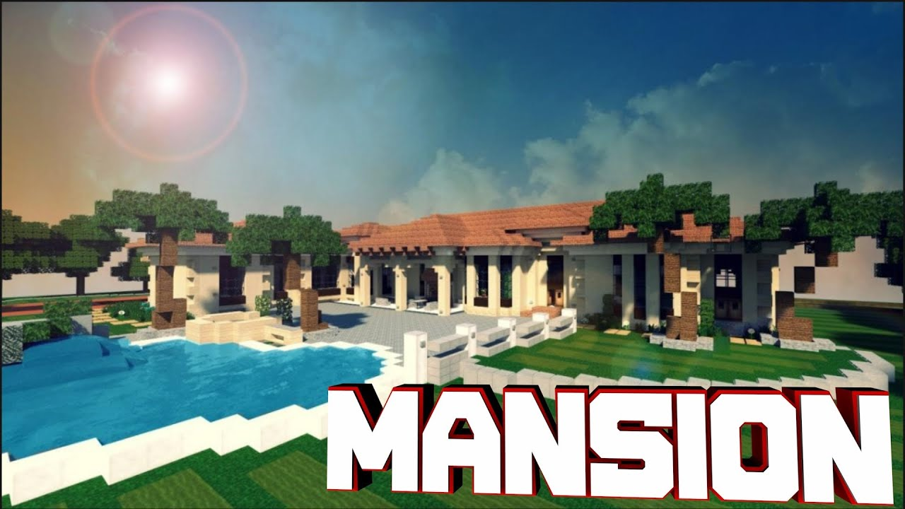 Minecraft pocket edition modern house [download] youtube.