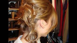 Make short hair look longer! Fun Side Up-do (Carrie Underwood Inspired)