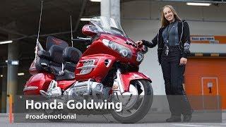 """Honda GL1800 Gold Wing (Тест от Ксю) - Серия """"Большие Путешественники"""""""