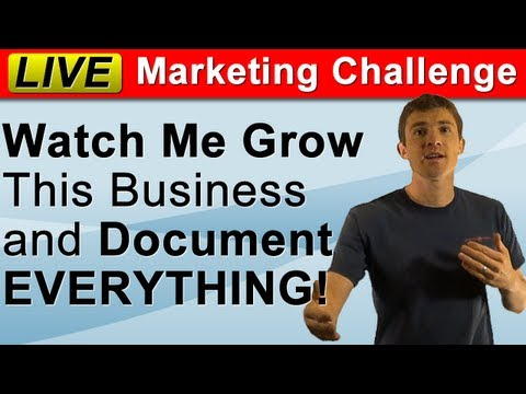 LIVE Small Business Marketing Challenge! (Local Marketing Ideas and Tutorials) thumbnail