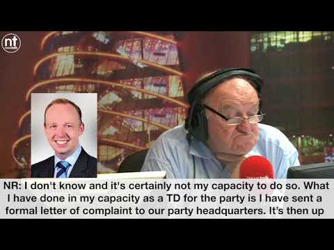 Newstalk George Hook discusses Fine Gael Councillor Brian Murphy