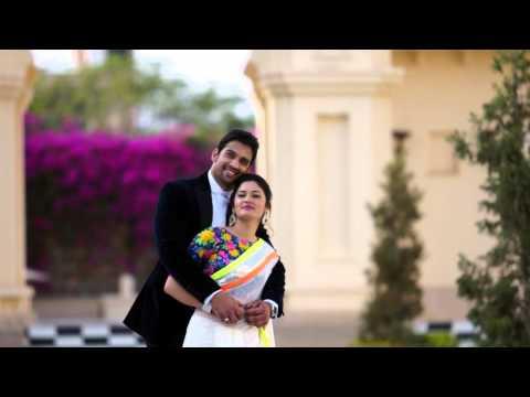 Prateek Neha Pre wedding at Udaivilas udaipur