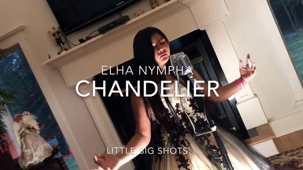 10 year old sings Elha Nympha\'s Chandelier Little Big Shots (Live ...