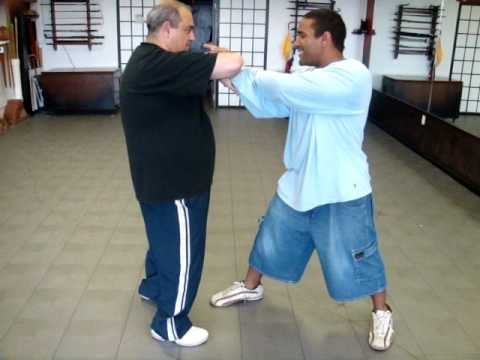 """Tai Chi Chin Na - (Needle at Sea Bottom) with Reversal 太极擒拿 """"I Want You to Go Down"""""""