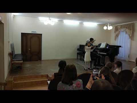 "Концерт ""Музыка Весны"", выступает Кузьмина Елизавета, г. Кушва, 2019 год, ДМШ"