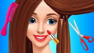 Hannah's High School Crush   Fun Makeup Fashion Dress Up Nail Salon Makeover Games For Kids & Girls