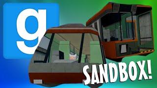 Train Derby Adventure! (Gmod Sandbox Funny Moments)