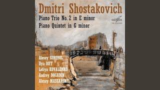 Piano Quintet in G Minor, Op. 57: IV. Intermezzo - Lento