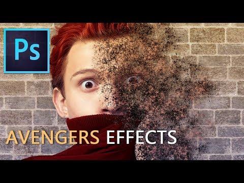 Photoshop Tutorial: Avengers Disintegration Effects