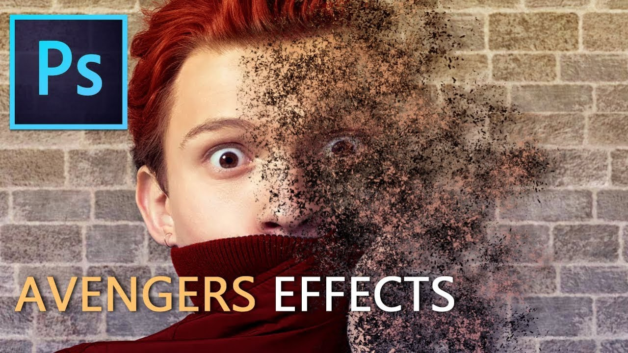 Photoshop: Avengers Disintegration Effects (Tutorial)