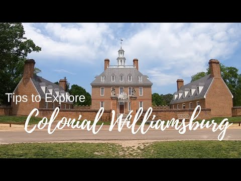 Colonial Williamsburg Tips & Tricks - First Landing State Park - Full Time RV Living
