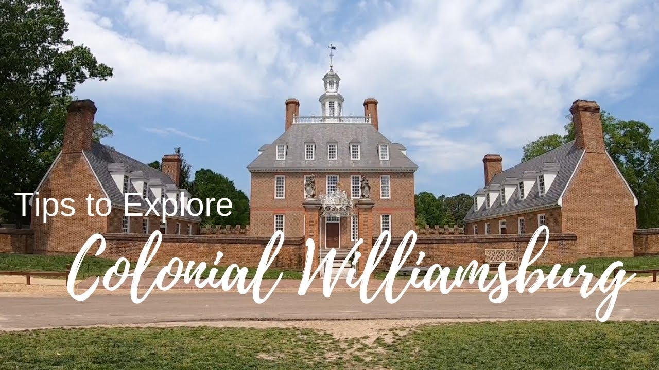 Tips to Explore Colonial Williamsburg, Virginia - First Landing State Park  - Full Time RV