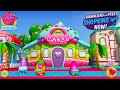 Shopkins Welcome To Shopville Rainbow Kate's Cake Shop Summer App Update With Nightime Fireworks