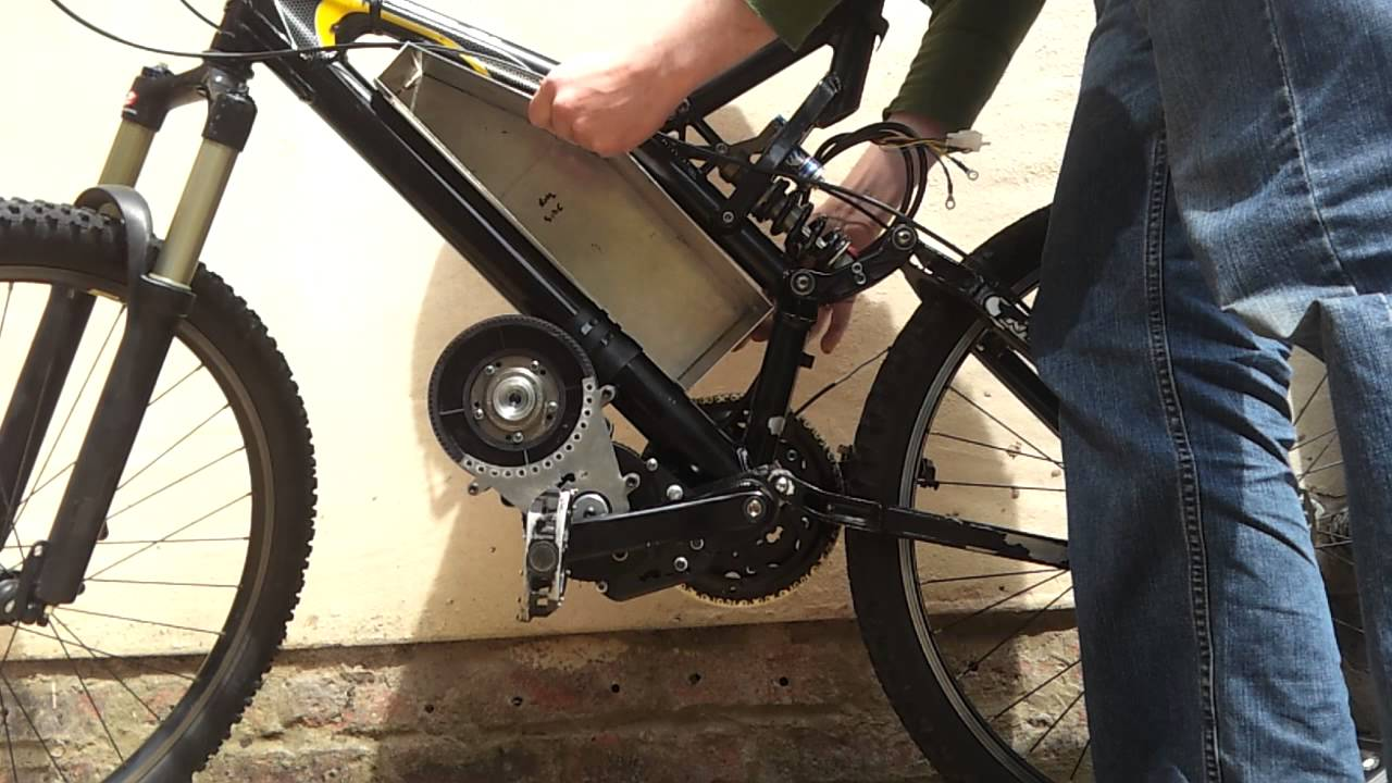 Electric Bike Project Aluminium Battery Box Youtube