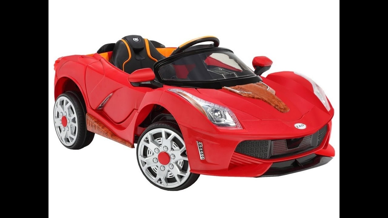 Zaap Sports Car 12v Ride On Kids Electric Battery Toy Car For Kids