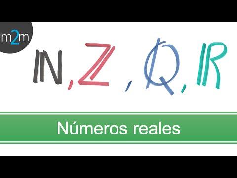 Clasificación de números Reales