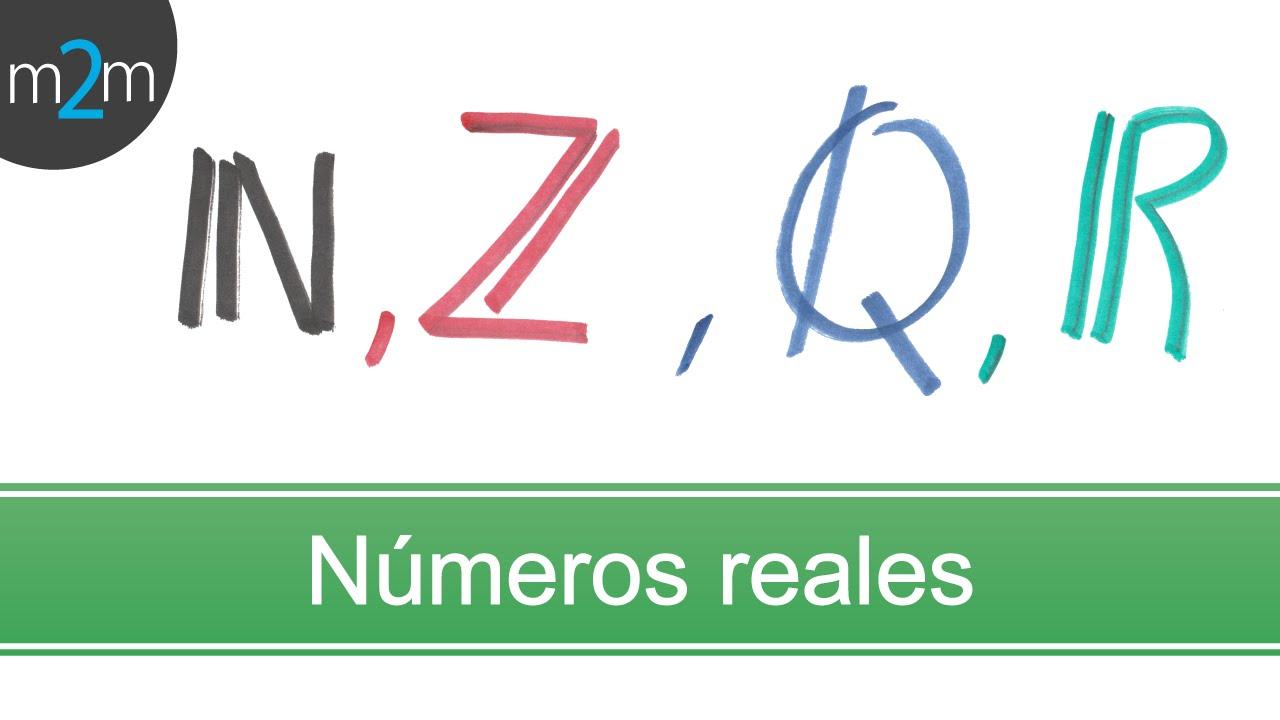 Simbolo Numeros Naturales   clasificaci 243 n de n 250 meros reales youtube
