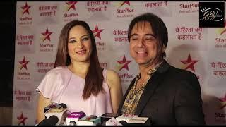 Rakshanda Khan & Sachin Tyagi at  10 Years Completion of Yeh Rishta Kya Kehlata Hai